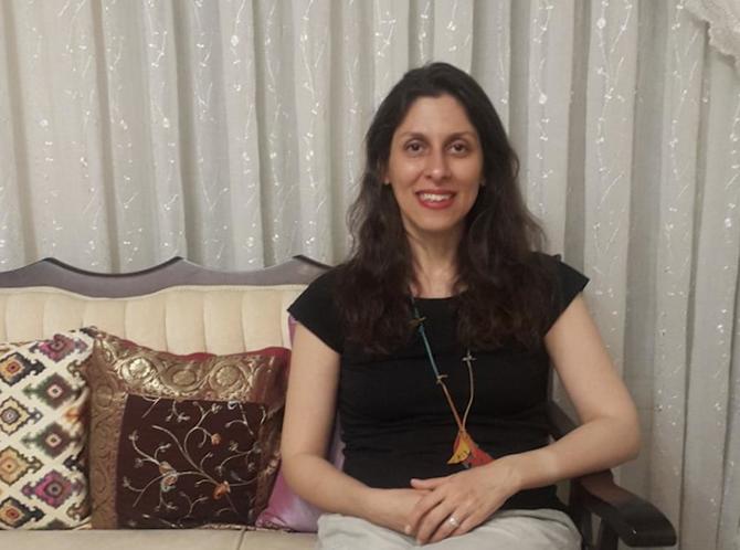 L'Irano-Britannique Nazanin Zaghari-Ratcliffe
