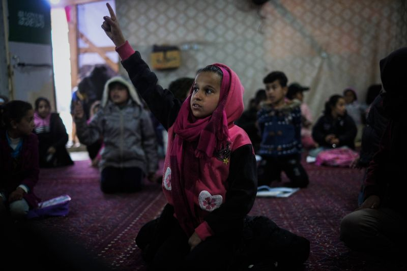 As school enrollment drops amid prolonged closures in Lebanon, child labor rates among Syrian refugees are on the rise
