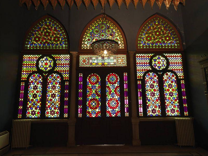 Sara Jaafar, une perfectionniste au chevet du vitrail de la villa Ibrahim Sursock