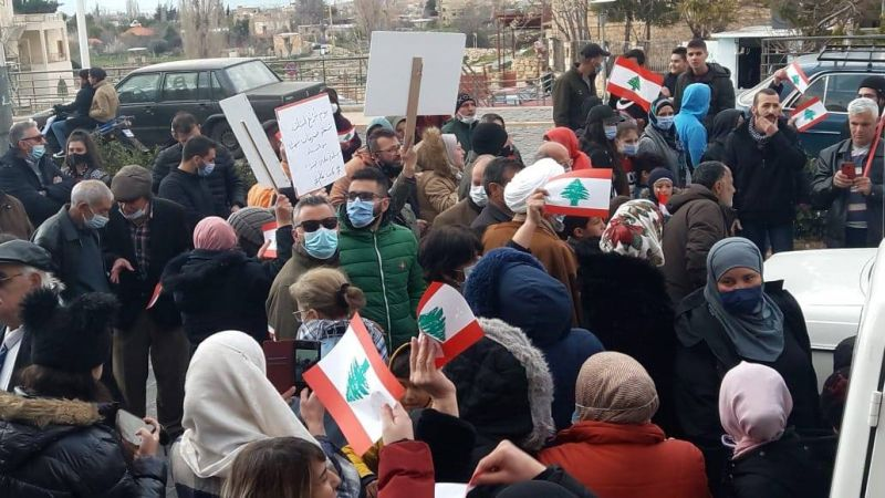 Baalbeck, théâtre de manifestations contre «la mafia qui pille l'État»