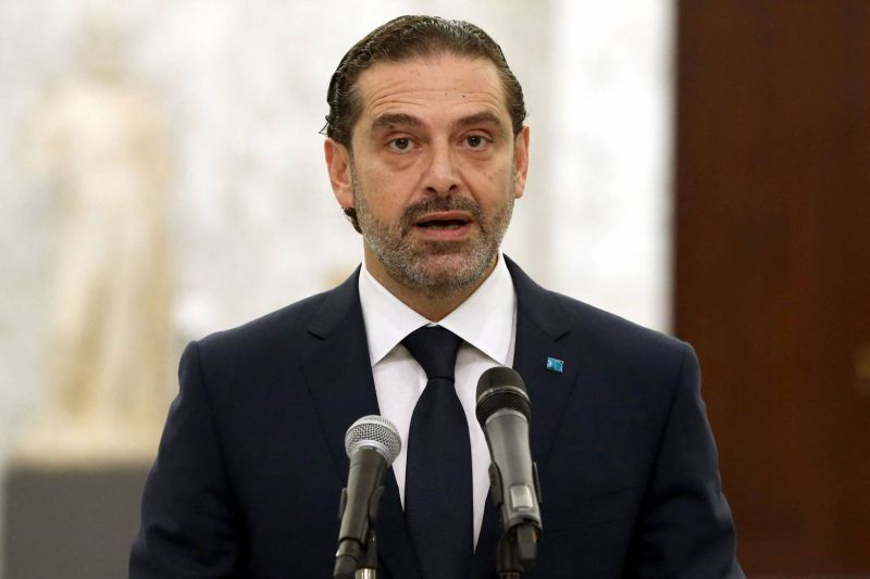 Hariri unveils his list of proposed ministers after a fresh fallout with Aoun