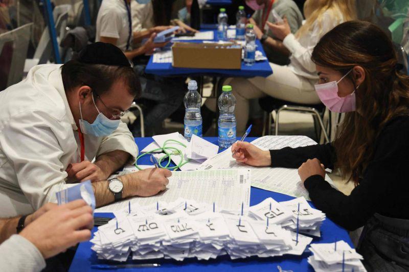 Impasse politique confirmée en Israël après la quasi-totalité des votes dépouillés