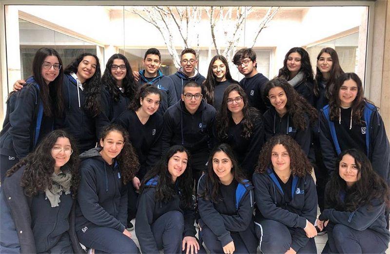 Les élèves de la Sainte Famille Fanar lauréats d'un concours de poésie à Monaco