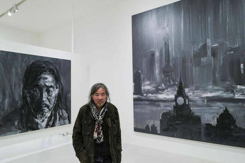 «Au nom du père»: une rétrospective au superlatif pour Yan Pei-Ming
