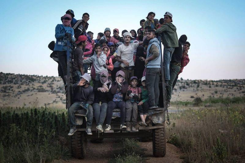 Depuis dix ans, la vie des réfugiés syriens est surréelle