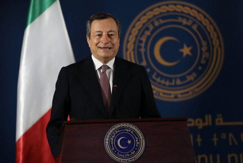 Mario Draghi qualifie le président turc Tayyip Erdogan de