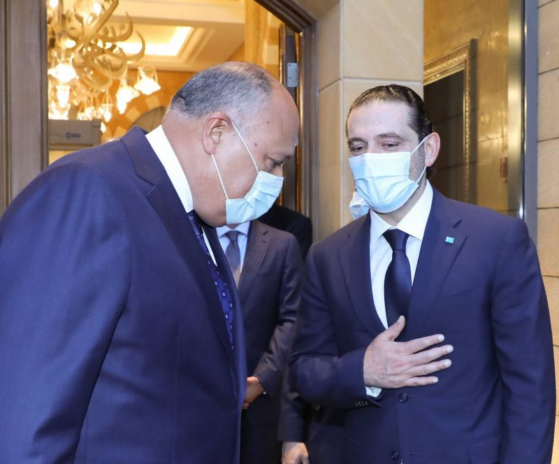 Egypt's foreign minister joins the international chorus calling for cabinet formation