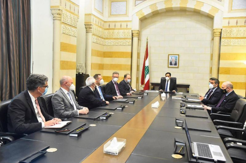 Diab reçoit une délégation allemande de la société de consultation