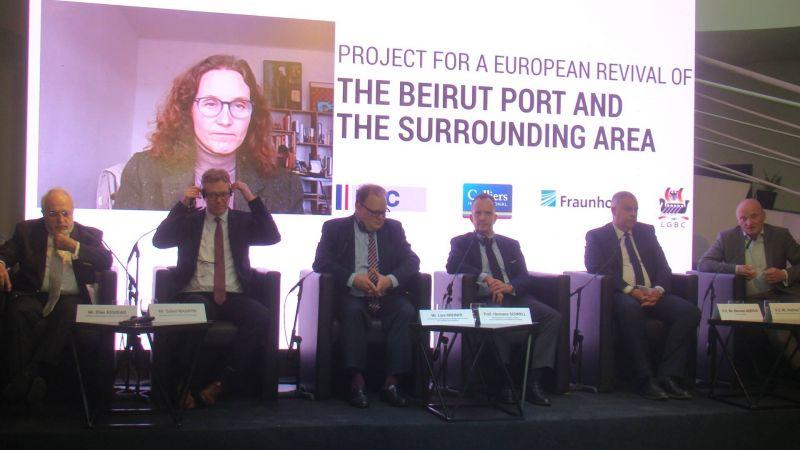 Les Allemands détaillent leur plan pour le port de Beyrouth