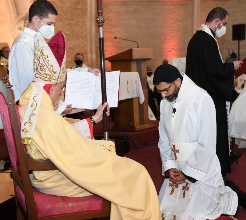 Mgr Antoine Bou Najem, nouvel archevêque maronite d'Antélias