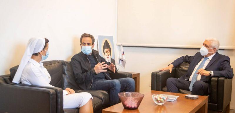 Réhabilitation en cours de l'unité de soins intensifs de l'Hôpital libanais-Jeïtaoui