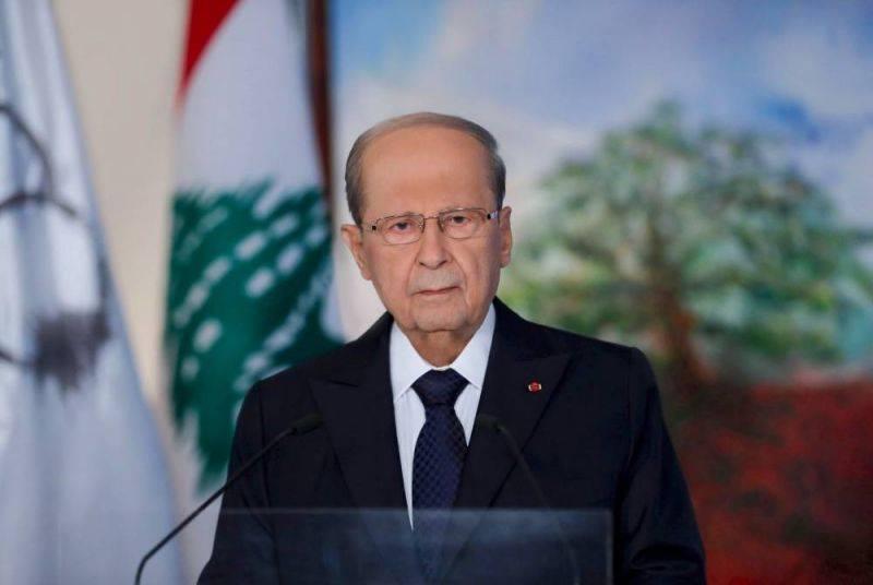 Décret sur la frontière maritime avec Israël : Aoun renvoie la balle à Diab