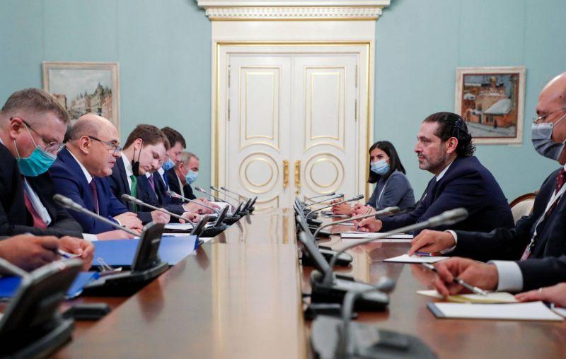 Poutine affirme à Hariri l'attachement de la Russie à la souveraineté et l'indépendance du Liban