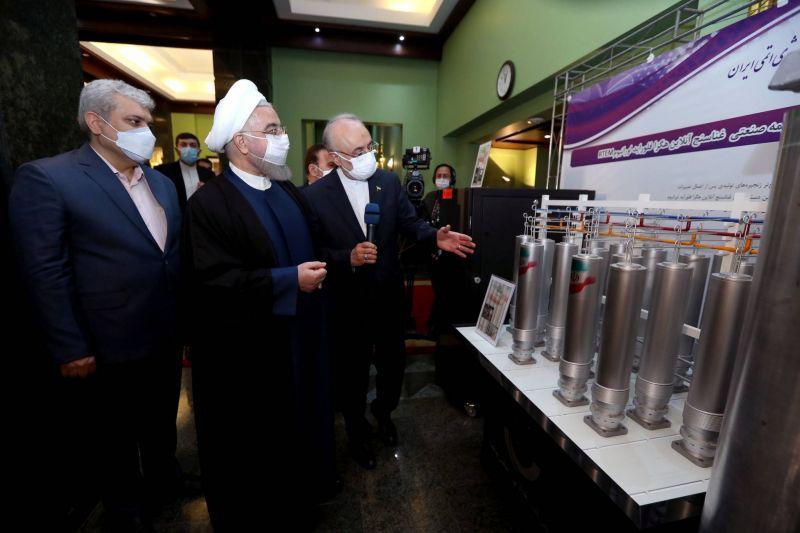 L'Iran annonce un bond spectaculaire de ses activités d'enrichissement