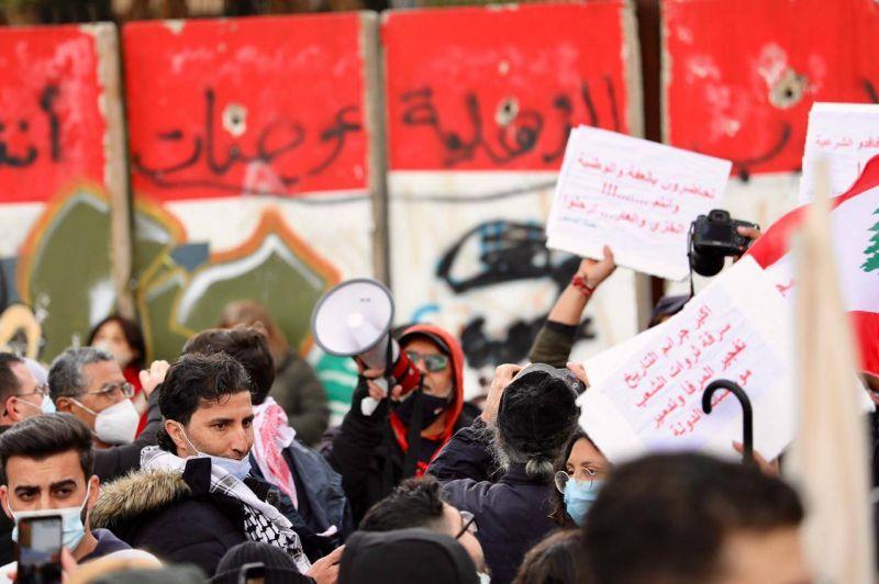 Sit-in à Beyrouth pour réclamer le départ de la classe politique