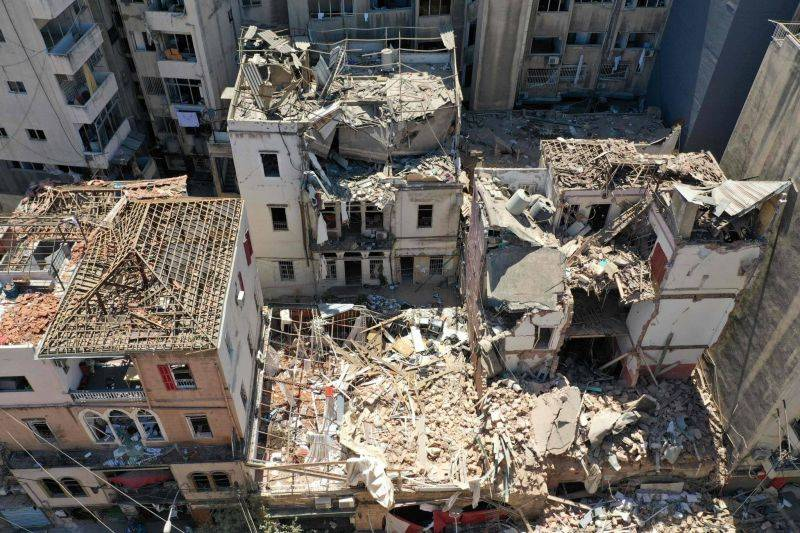 Aid to the families of the Beirut port victims is slow to materialize and worth very little