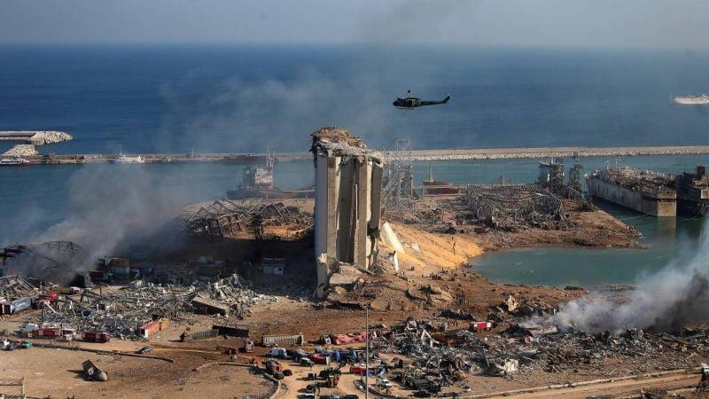 Explosion au port de Beyrouth : ce qui pourrait avoir déclenché l'incendie