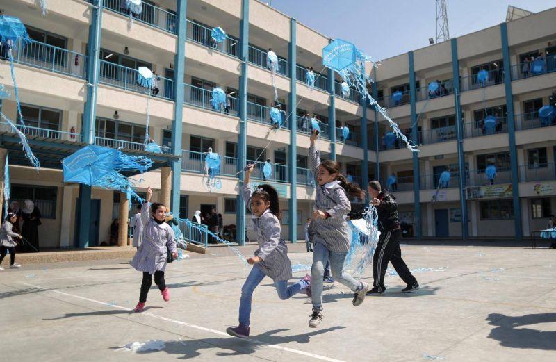 L'Unrwa lance une plateforme numérique pour ses 540.000 élèves palestiniens