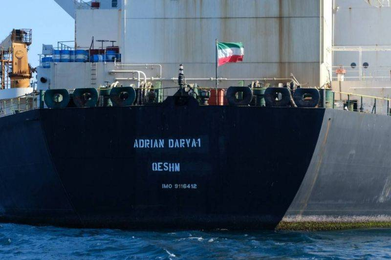 Un pétrolier iranien touché par une attaque au large de la Syrie