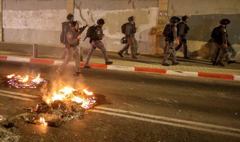 Arrestations et blessés lors de heurts à Jérusalem-Est et Jaffa
