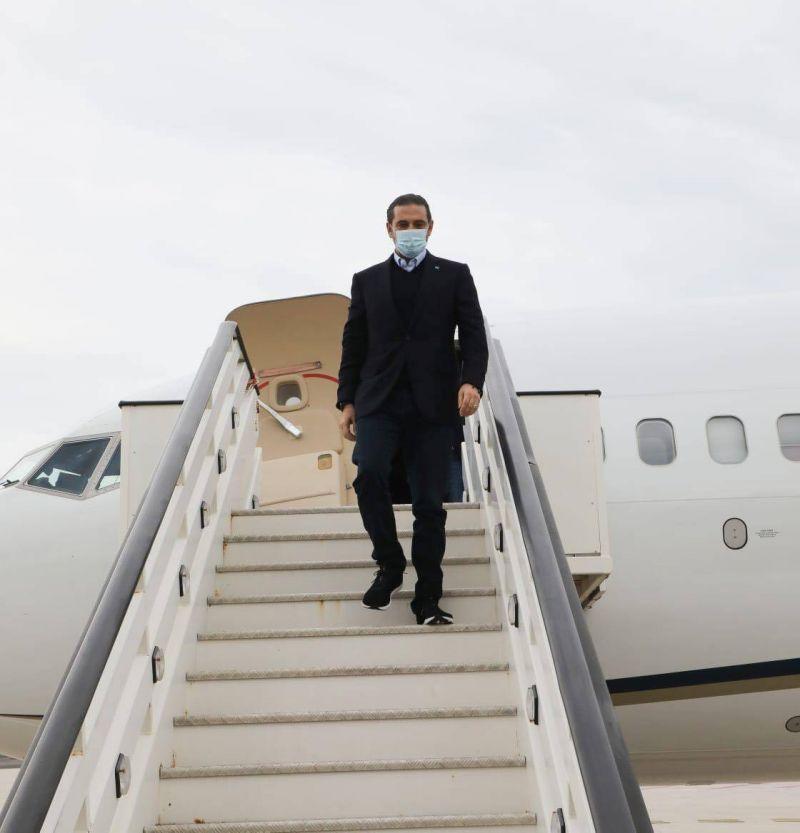 Hariri est arrivé à Rome à la veille de son entretien avec le pape
