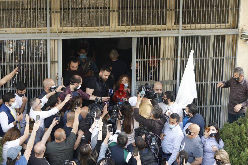 Ghada Aoun, vedette d'un week-end de justice-spectacle