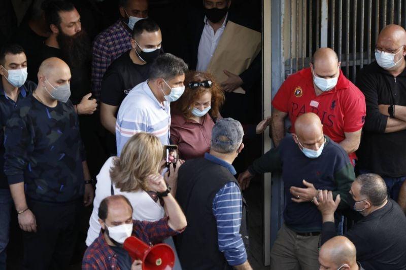 Ghada Aoun devant l'Inspection judiciaire à la demande du CSM
