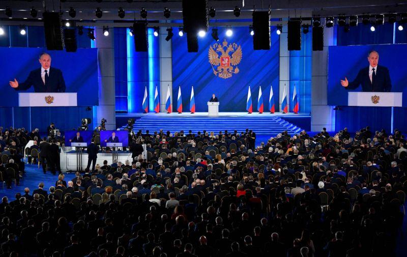 Poutine met en garde l'Occident dans son discours annuel