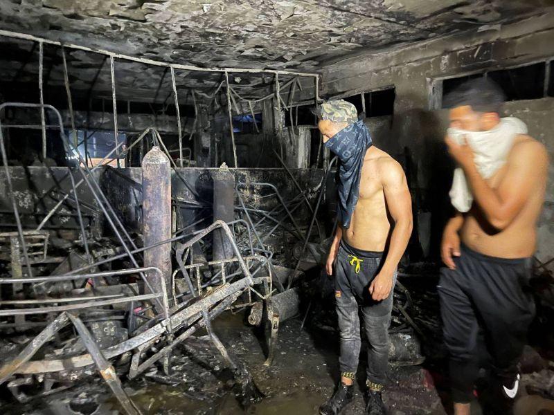 Nuit tragique dans un hôpital de Bagdad: plus de 80 morts