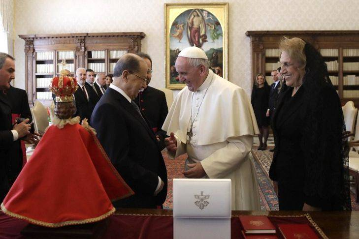 Le pape François à Aoun : Le Liban