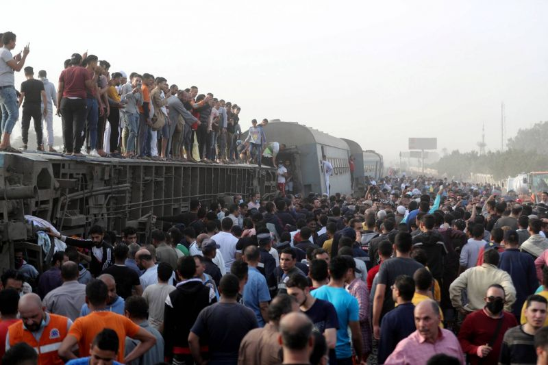 Près de 100 blessés dans un nouvel accident de train