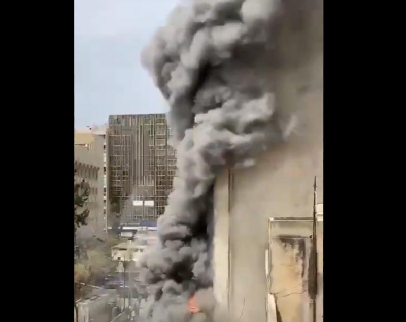 Incendie maîtrisé dans un bâtiment de Beyrouth
