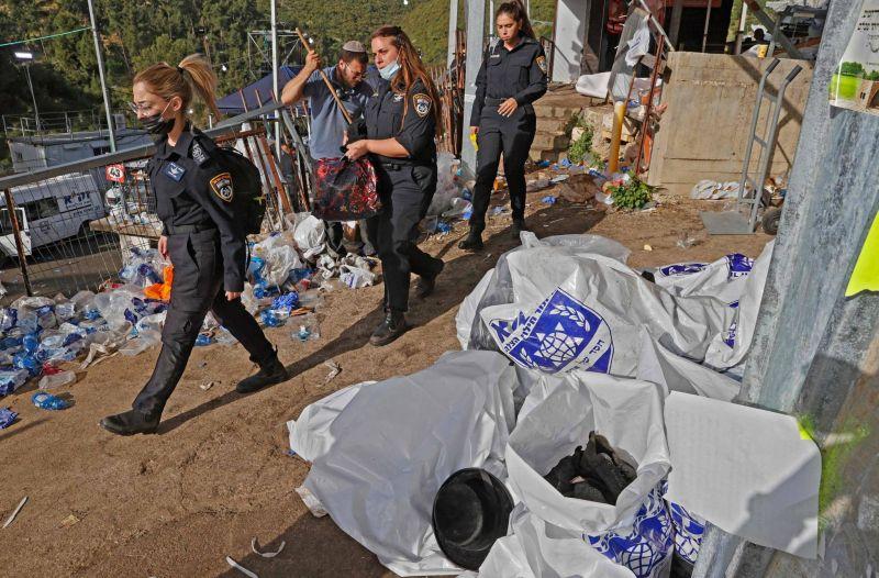 Israël enterre ses morts après une bousculade fatale à 45 pèlerins juifs