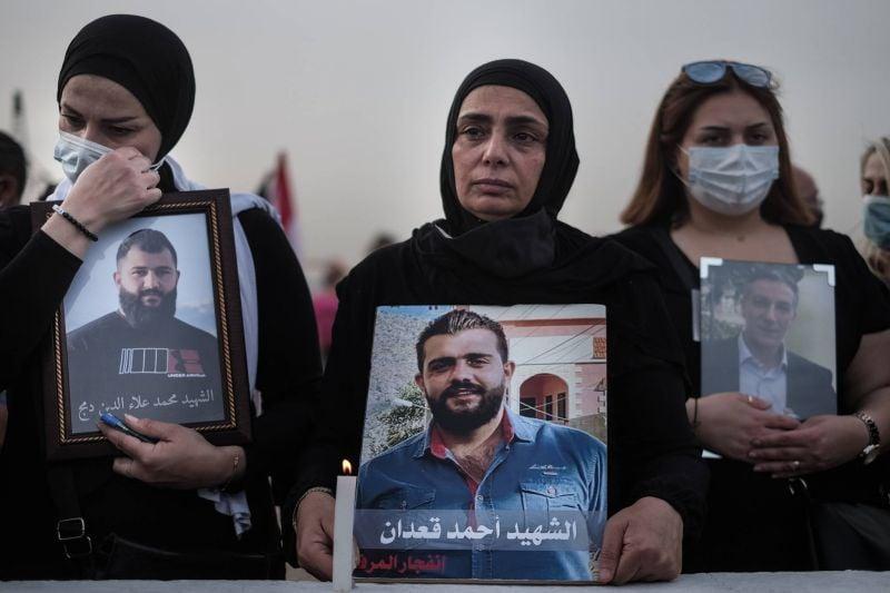 Sit in au port de Beyrouth pour marquer les 9 mois de l'explosion du 4 août