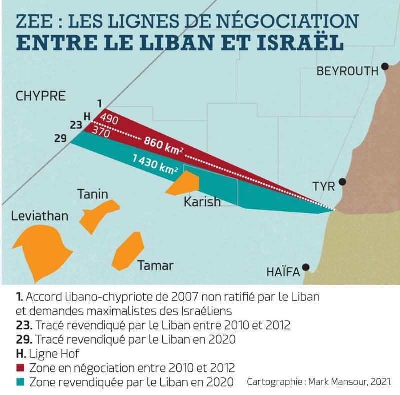 Frontière maritime : Aoun donne ses directives à la délégation libanaise