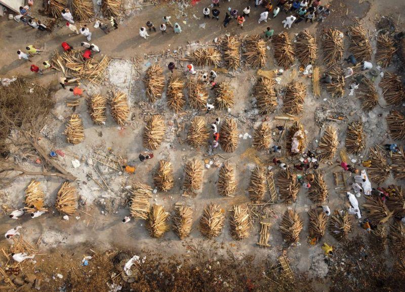Plus de 200000 morts en Inde, le variant indien présent dans 17 pays