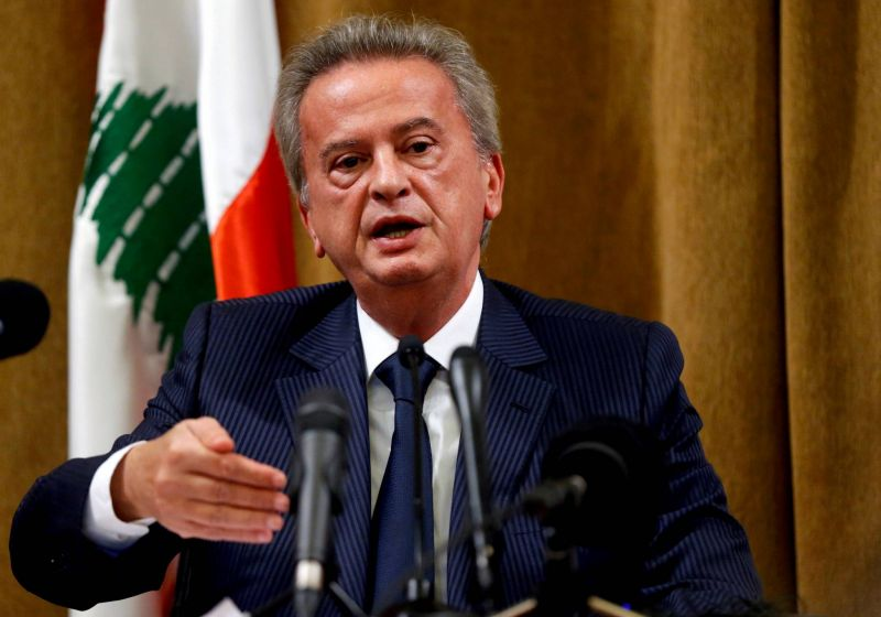 Legal complaint in France targets Lebanon's central bank governor, anti-financial crime NGO says