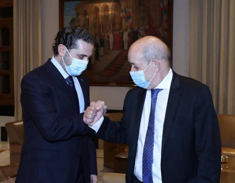 A Beyrouth, Le Drian lance la « nouvelle approche française » du dossier libanais