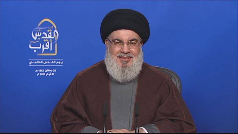 Frontière maritime : Nous n'allons pas intervenir, réaffirme Nasrallah