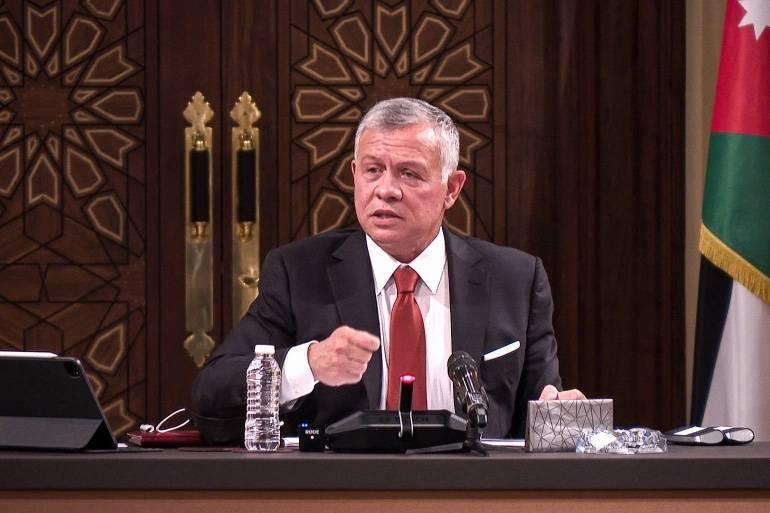 Le roi craint que l'attitude d'Israël