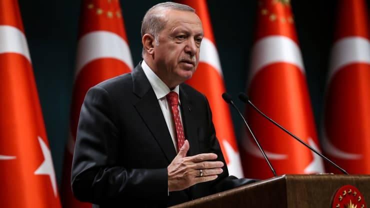 Erdogan condamne le