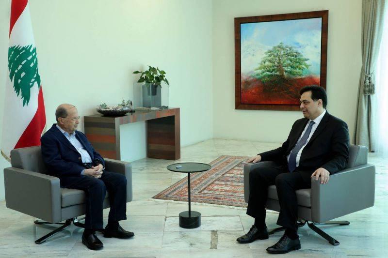 Aoun et Diab souhaitent une bonne fête du Fitr aux Libanais