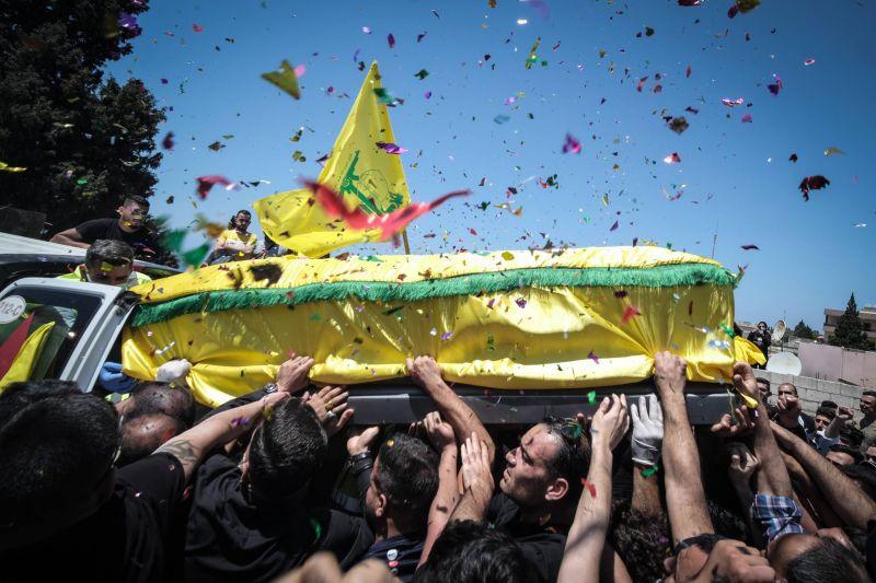 Adloun fait ses adieux à Mohammad Tahhan, manifestant du Hezbollah tué par Israël