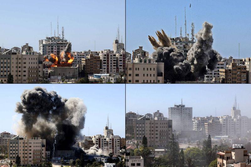 Dans et hors de Gaza: les médias pris dans l'escalade Hamas-Israël