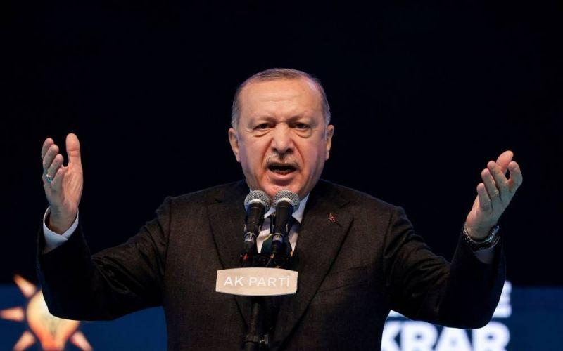 Erdogan condamne les