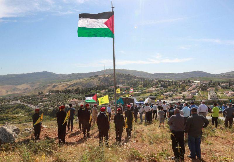 Des manifestants traversent brièvement la frontière entre le Liban et Israël, deux blessés