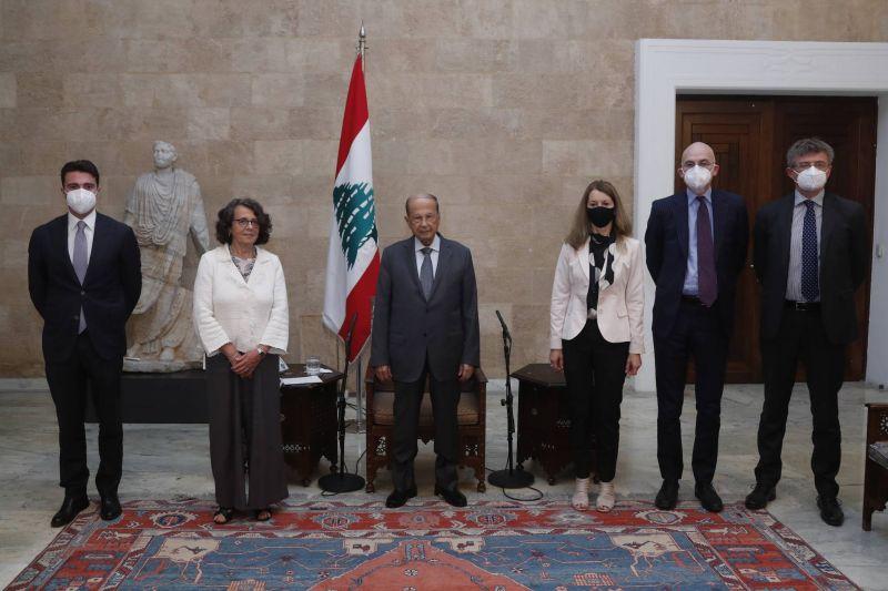 L'Italie prête à accroître son soutien au Liban à condition que le cabinet soit formé