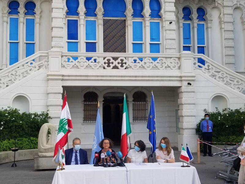 Un million d'euros de l'Italie au musée Sursock