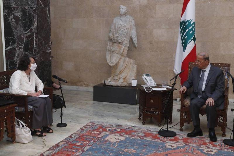 Sereni chez Aoun: Privilégier la formation d'un gouvernement de réforme