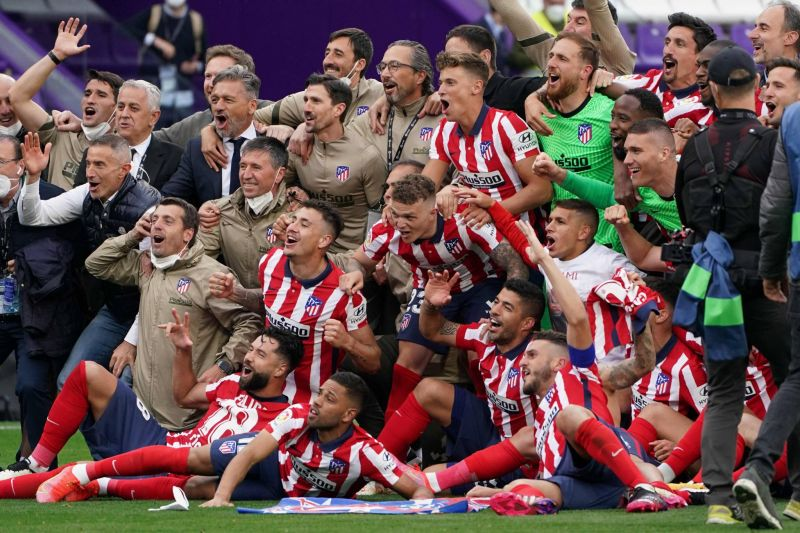 L'Atlético Madrid brise l'hégémonie du Real Madrid et du FC Barcelone